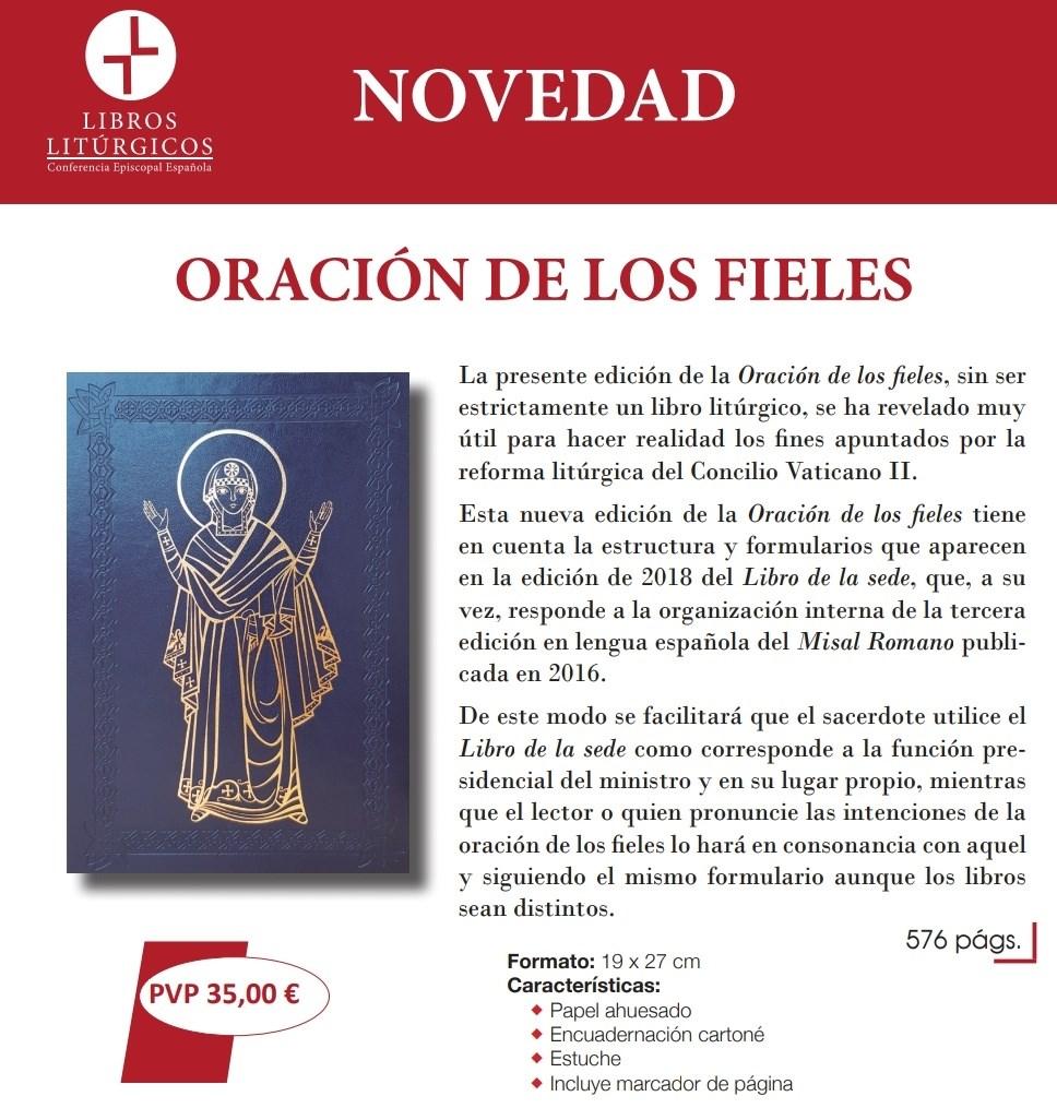 Oración De Los Fieles Nueva Edición